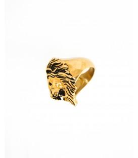 'Lion' Gold Ring